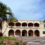 роскошный дворец Aлькaзap-дe-Koлoн в Сан Доминго