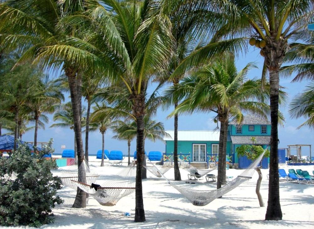 Grand Bahamas пляж с белым песком