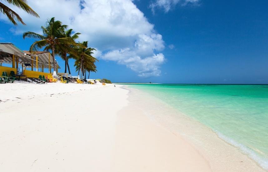 Анегада пляж