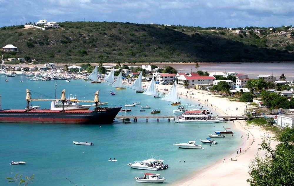 Остров Ангилья - город Валли