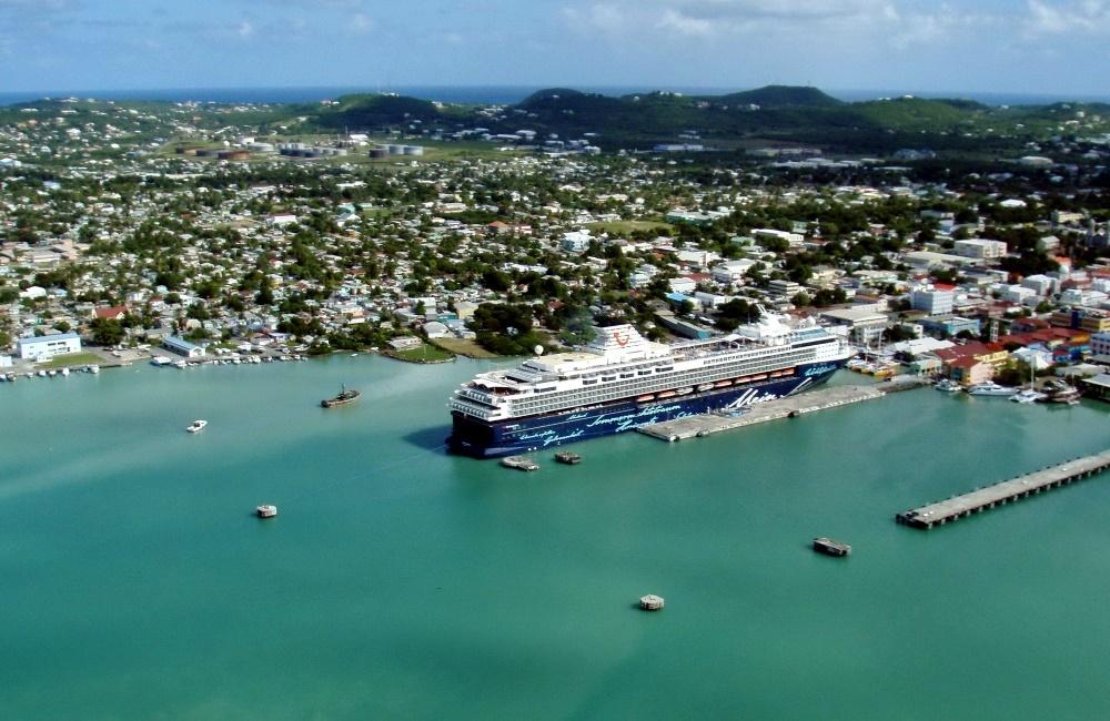 Остров Антигуа - столица Сент-Джонс