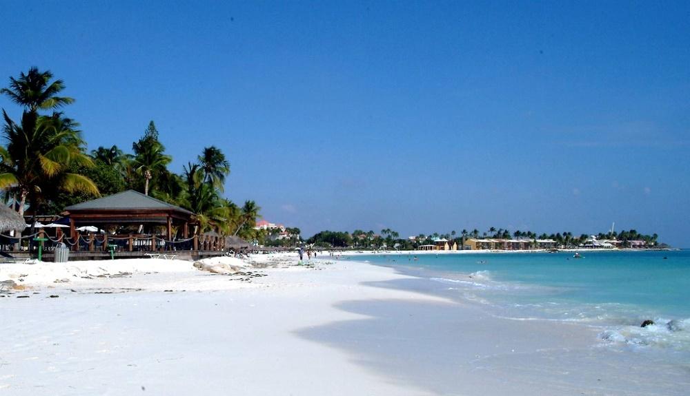 Аруба песчаный пляж