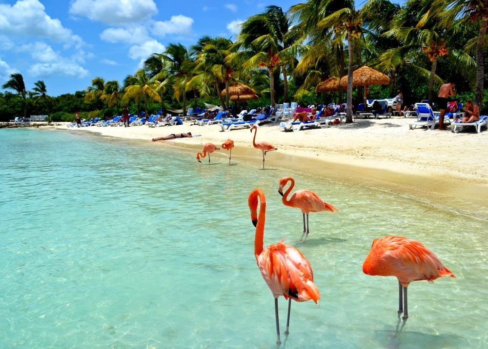 Пляжи на острове Кюрасао