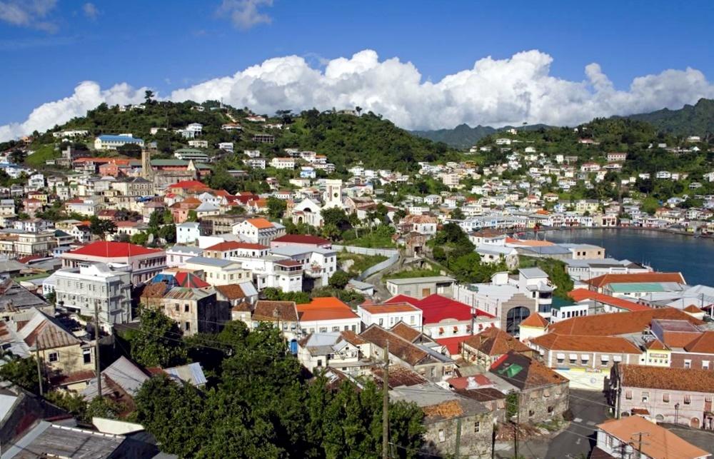 Остров Гренада - столица Сент-Джордес