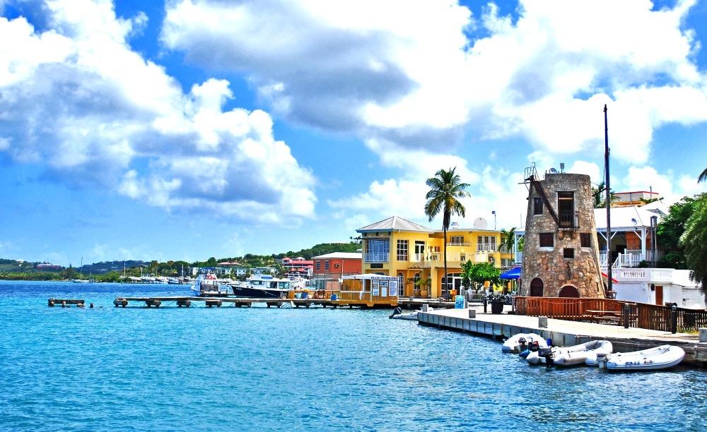 Остров Санта-Крус Американские Виргинские острова город Кристианстед