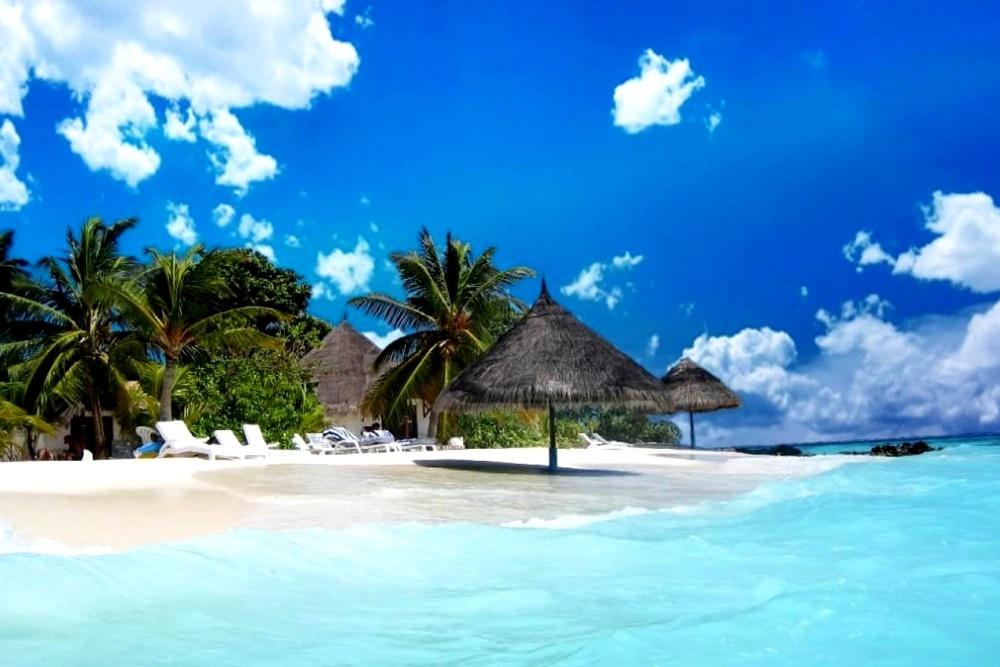 Пляж на острове Маргарита