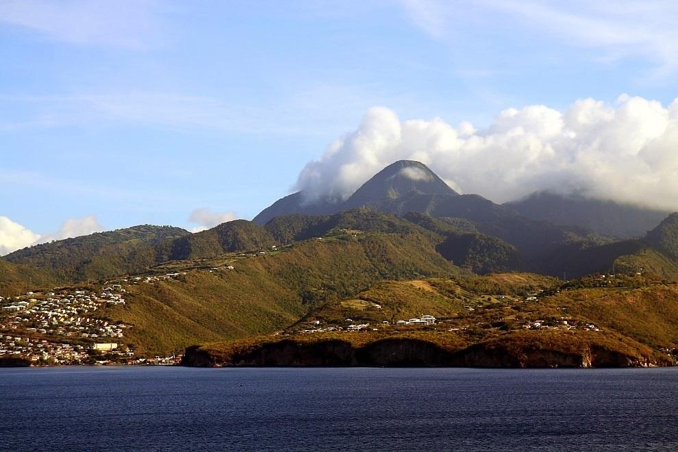 Вулкан на Мартинике