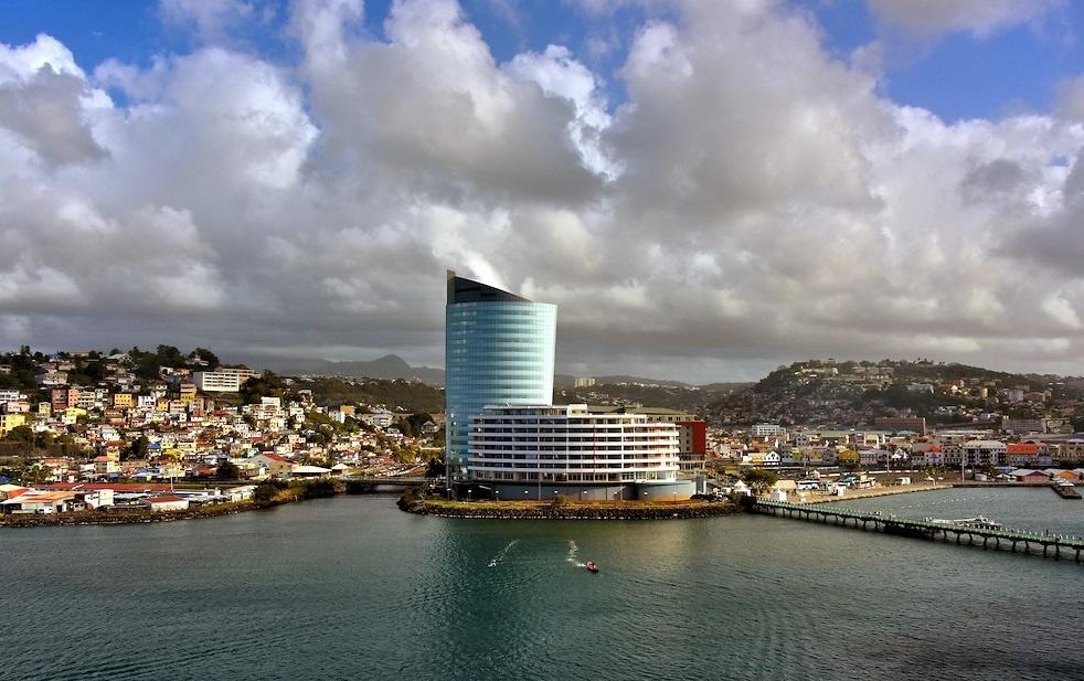 Остров Мартиника город Форт-де-Франс