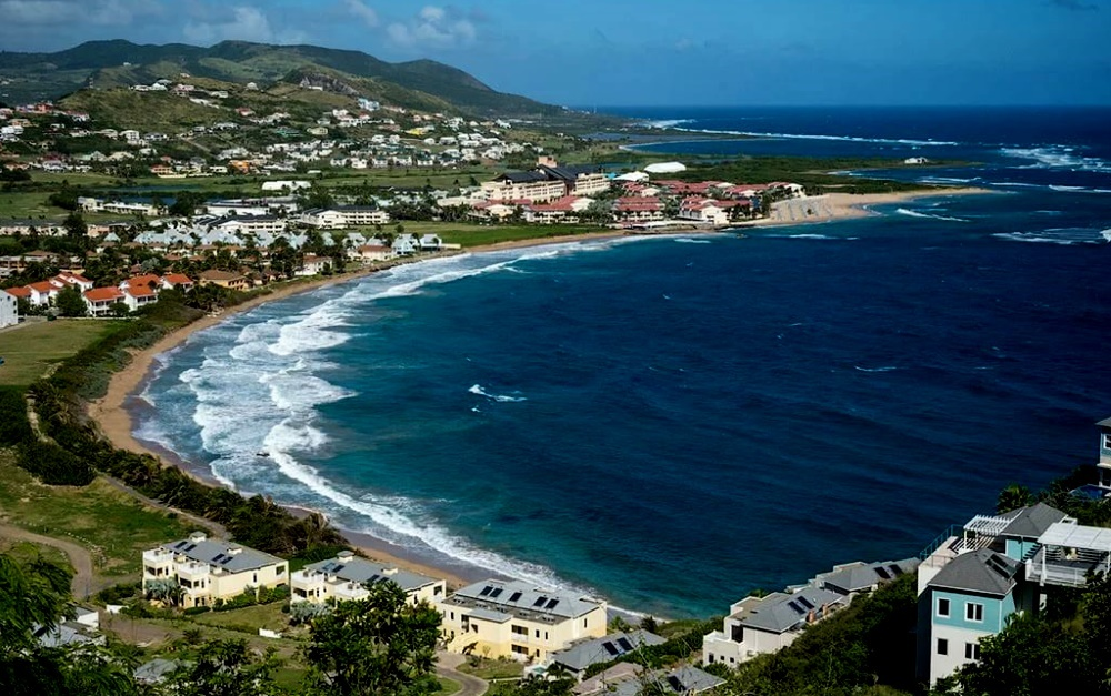 Остров Сент-Китс, Карибы