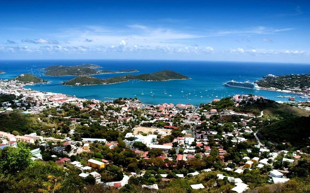 Порт Шарлотта-Амалия, Остров Сент-Томас