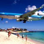 St.Maarten Island Maho beach