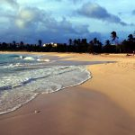 St. Maarten Island Mullet Bay beach