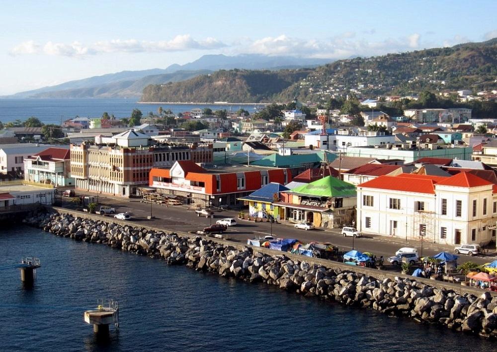 Остров Доминика - столица город Розо
